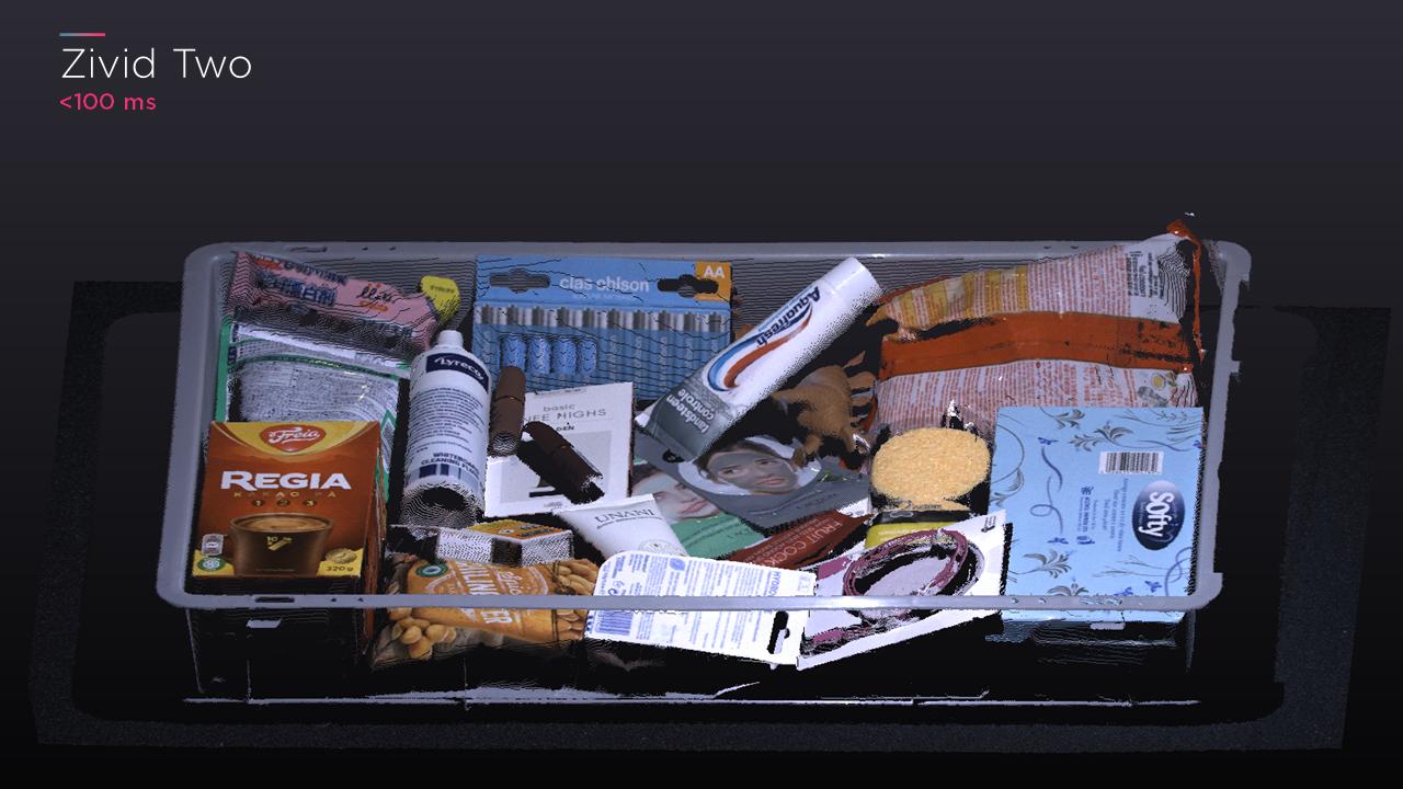 Piece picking bin - details 03 - Zivid Two