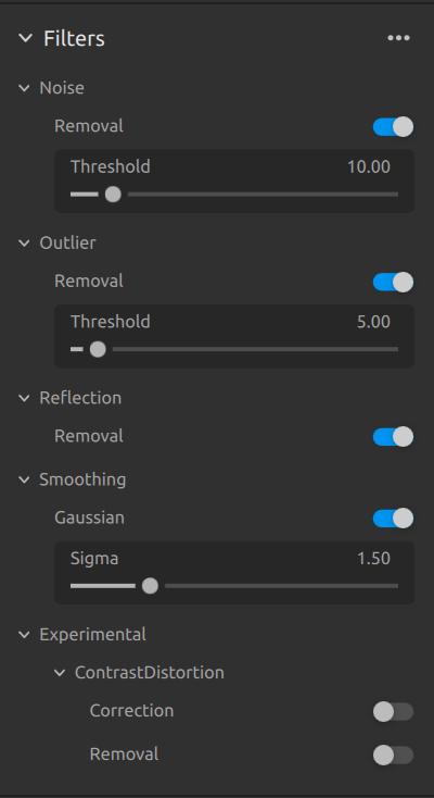 Zivid-Studio-3D-filters