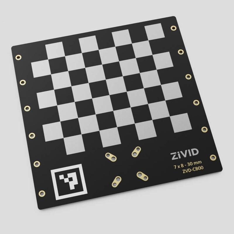 Zivid 3D in field calibration board 1